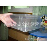 热销供应简单实用全透明塑料收纳盒子