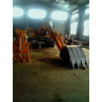 挖掘机改油电两用山东华峰专业改装13705346311