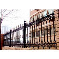 专业定制各种铁艺护栏 庭院围墙 高档别墅围栏 热镀锌30年不生锈