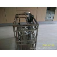 供应橱柜配件、不锈钢方管调味篮、橱柜拉篮、厨房用品