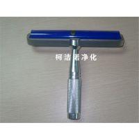 铝柄硅胶粘尘滚筒 4 6 8 10 12寸手动防静电滚轮 除尘除灰 矽胶滚轮 粘尘辘 可清洗重复使用