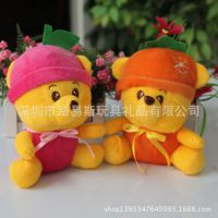 厂家来图来样定做 新款毛绒玩具熊 迪士尼娃娃毛绒公仔维尼熊玩偶