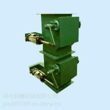 XHF-350*350电液动双层卸灰阀、电动蘑菇式卸灰阀