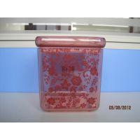 诺德特色品牌全新硅胶超严实密封礼品促销密封罐 透明塑料密封罐