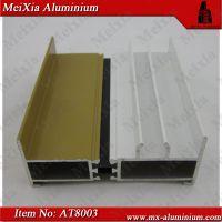 AT80系列推拉窗铝合金型材 高精密工业铝型材 工业铝型材