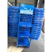 【生产商】矿泉水促销展示架蒸馏水商超货架纯净水广告陈列架