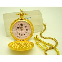 gold pocket watch and block watch for blinds,mechanical watches and quartz watches