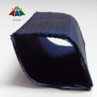 东莞织带厂 供应1寸半四斜纹深蓝色尼龙空心织带