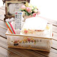 厂家直销 纸巾盒 餐巾纸盒酒店用品 抽取式 多功能收纳盒