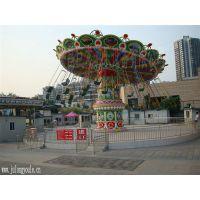 大型户外游乐设备摇头飞椅公园娱乐设备许昌巨龙游乐