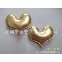 超声波电压爱心 布料心型 金色爱心 玩具心型