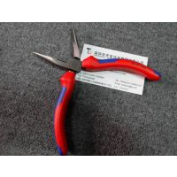 德国进口钳子 Knipex 2502160加硬剪刃带防滑护套6寸尖嘴钳电工钳