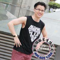 供应特价 Bigbang组合g-dragon演唱会情侣周边mini5同款无袖T恤打底衫