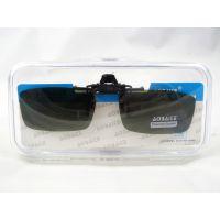 厂家直销偏光夜视镜夹镜 男女近视眼镜夹片 司机镜 墨镜太阳镜A02