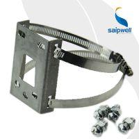 供应防水盒安装在电线杆上抱箍 安防监控立杆专用抱箍 安装卡箍