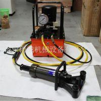 山东雨成厂家直销手提式液压钢筋弯曲调直机