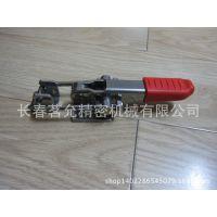 GN851-NI带锁扣拉紧夹具 长春现货供应快速夹钳 台湾嘉钢系列批发