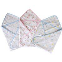 70*70cm 西松屋宝宝新生儿夏季柔软抱被 4层纱布空调抱毯