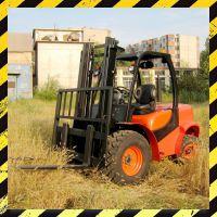 供应三吨越野叉车CPCD30Y建筑工地坑洼路面专用叉车