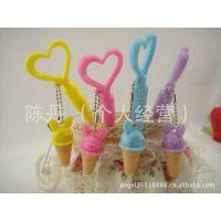 日韩国学生文具批发 8688冰激凌造型挂件口哨圆珠笔  创意文具