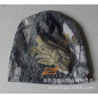 供应仿生迷彩头套帽 狩猎户外帽 专业帽子加工厂阳西县晓阳帽业公司