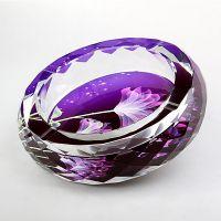 厂家直销水晶工艺品礼品水晶烟缸酒店KTV用品玻璃烟缸创意烟缸