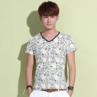 网店代销 夏装新款韩版男T恤打底衫 一件代发 诚招代销 免费加盟