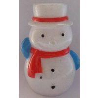 厂家直销圣诞老人公仔 圣诞节配件挂饰 手机挂饰品等  塑胶工艺品