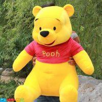 七夕情人节礼物 正品 Disney迪士尼 维尼熊小熊 公仔 毛绒玩具