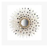 欧式铁艺墙面装饰太阳镜创意墙饰壁挂装饰挂饰壁饰挂件客厅背景墙