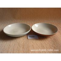 自助餐陶瓷盘 西餐圆盘 蛋糕盘纯白餐具纯色浅式盘碟子批发A564