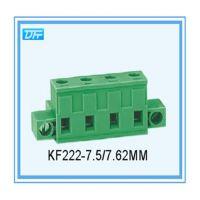 厂家供应带固定孔接线端子插拔式KF222