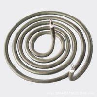 厂家非标定制螺旋盘状电加热管 JXC-Y070干烧蚊香型电加热管
