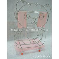 雅发家居日用 不锈钢置物架 多功能熊猫型置物架 201不锈钢材质