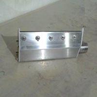 供应丰腾威机电设备200/300/500MM不锈钢小型工业热风刀外接风干燥器