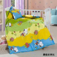 幼儿园三件套 幼儿园被子 婴幼儿床上用品批发 儿童被厂家直销