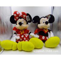 外贸原单~玩具反斗城迪斯尼迪士尼米奇米妮米老鼠 毛绒玩具公仔
