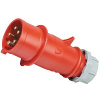 启星QX3 5芯16A IP44工业插头/工业插座/工业插头插座/产品有认证