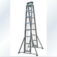 供应铝合金双面人字升降梯/ 铝合金关节梯/ 绝缘人字梯