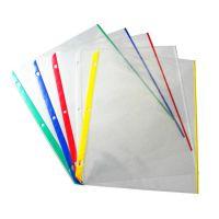 【厂家定做】优质环保PP3孔文件袋、3孔活页袋