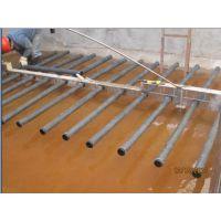 供应污水处理厂德国进口可提升微孔管式曝气器,悬挂链橡胶曝气管