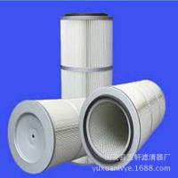 适用于电子业磨边机3260 3566除尘滤芯粉尘收集螺杆式滤筒