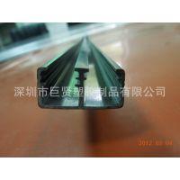 塑胶制品专业定做各种挤塑加工成型U形槽 LED系列 管材 挂历条
