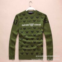 供应100605 大牌原单 冬款新装 进口羊毛宽松版高档男款羊毛衫打底衫