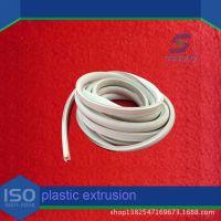 厂家定做绝缘PVC软质电线管 电线电缆塑料绝缘软管 穿线绝缘管