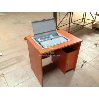 液晶屏手动翻转器电脑桌科桌 桌面液晶显示屏翻转器 办公桌视讯会议系统