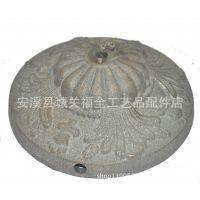 新款铸铁底座 不规格花纹铸造底座 铁艺通用配件