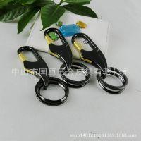 厂家直销 创意款小礼品赠品 金属钥匙扣 汽车腰挂件配饰品