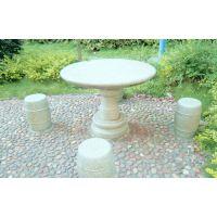 大理石石桌石凳,汉白玉石桌石凳