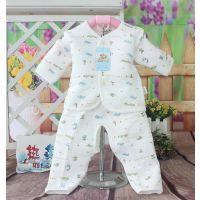 汤博士福爸爸912#宝宝纯棉纽扣款套装,2个码,厂价批发4310